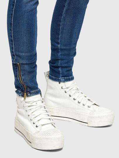 Diesel - Slandy Low 009PU, Bleu moyen - Jeans - Image 4