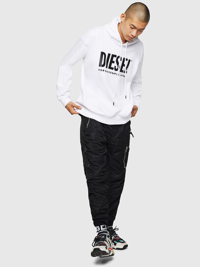 Diesel - S-DIVISION-LOGO, Blanc - Pull Cotton - Image 5