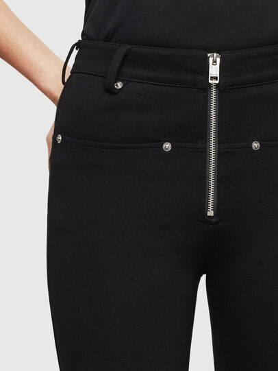 Diesel - P-GLASSY, Black - Pants - Image 3