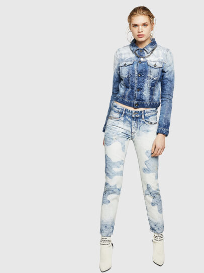Diesel - D-Rifty 0890P, Bleu Clair - Jeans - Image 6