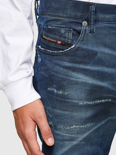 Diesel - D-Strukt JoggJeans 069SE, Medium Blue - Jeans - Image 3