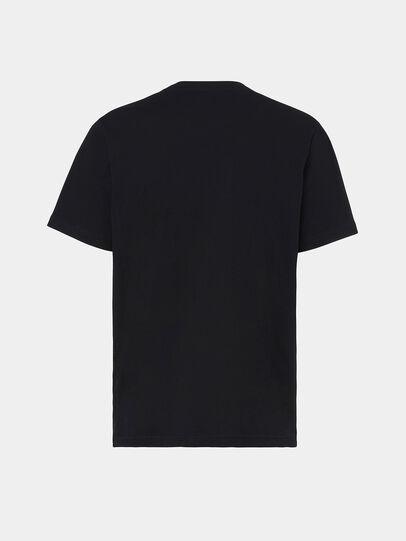Diesel - T-MOONY-X2, Black - T-Shirts - Image 2