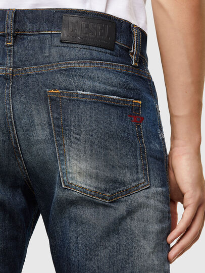 Diesel - D-Strukt 009JT, Dark Blue - Jeans - Image 4