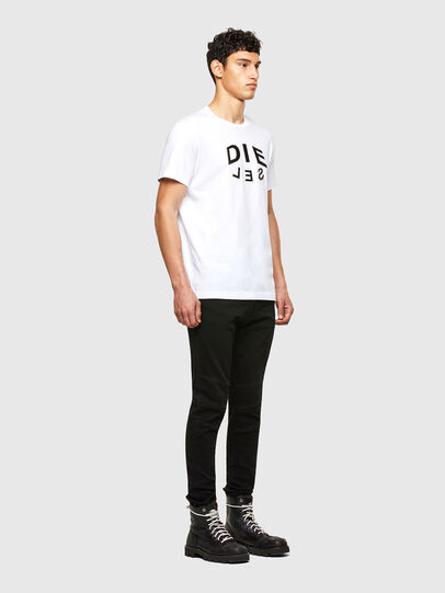 Diesel - T-DIEGOS-A1, Blanc - T-Shirts - Image 4