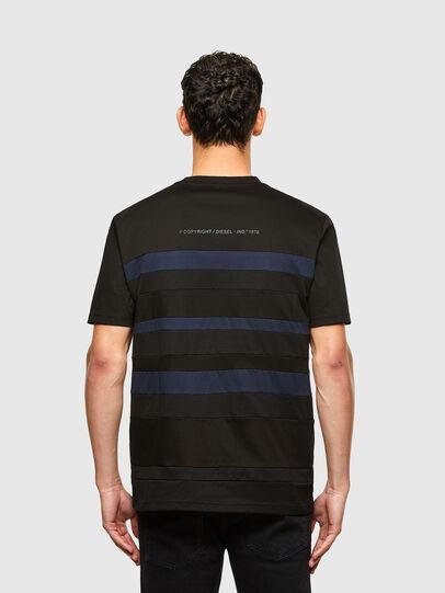 Diesel - T-LOUD, Noir - T-Shirts - Image 2