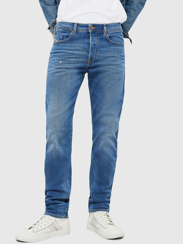 Buster 083AX, Bleu Clair - Jeans