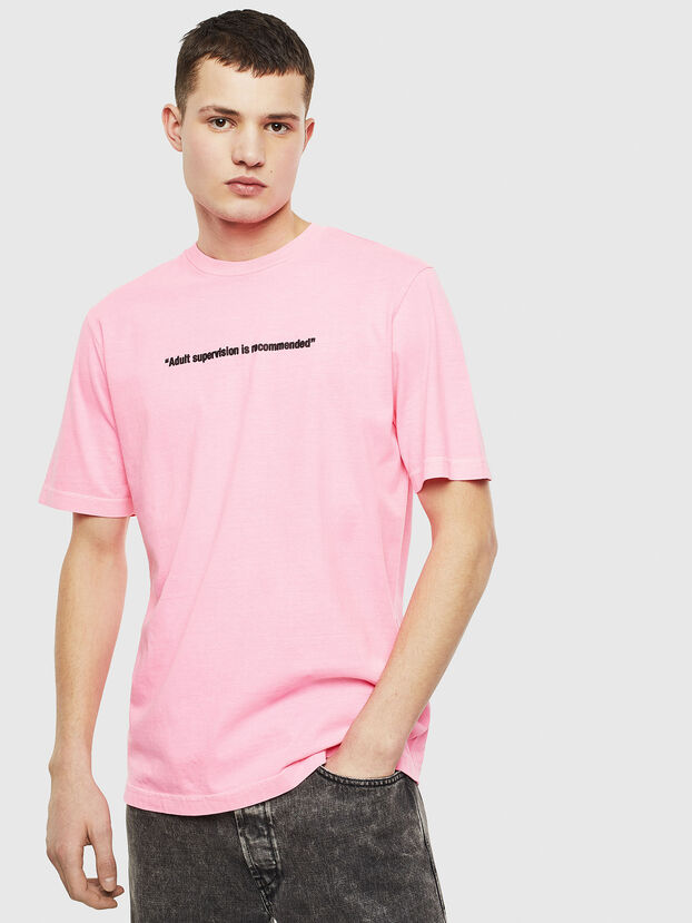 T-JUST-NEON, Rose - T-Shirts
