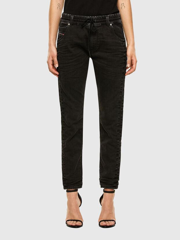Krailey JoggJeans 009FY, Noir/Gris foncé - Jeans