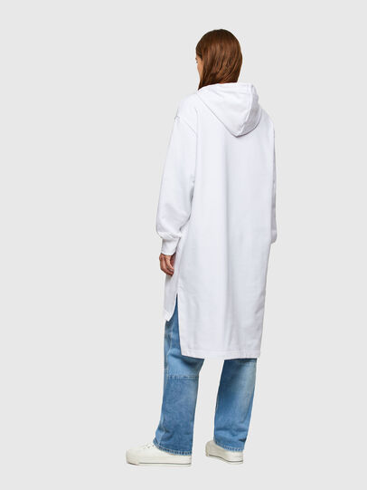 Diesel - D-ILSE-SMALLOGO, Blanc - Robes - Image 2
