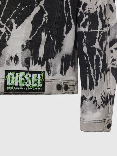 Diesel - NHILL-SP3, Noir/Blanc - Vestes en denim - Image 5
