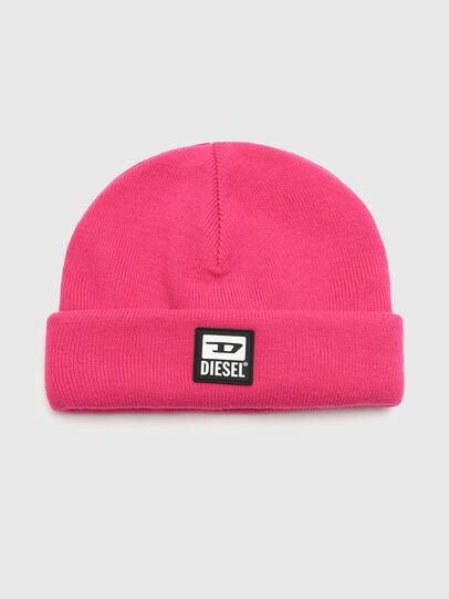 Diesel - K-XAU, Pink - Knit caps - Image 1