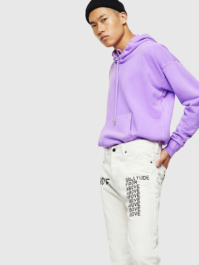 Diesel - S-ALBY-FLUO, Lilas - Pull Cotton - Image 6