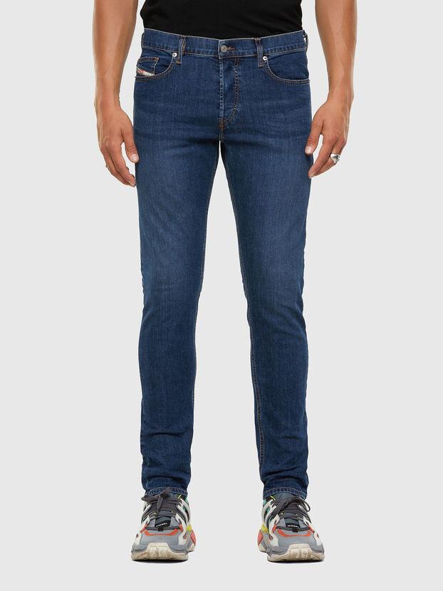 D-Luster 009DG, Bleu moyen - Jeans