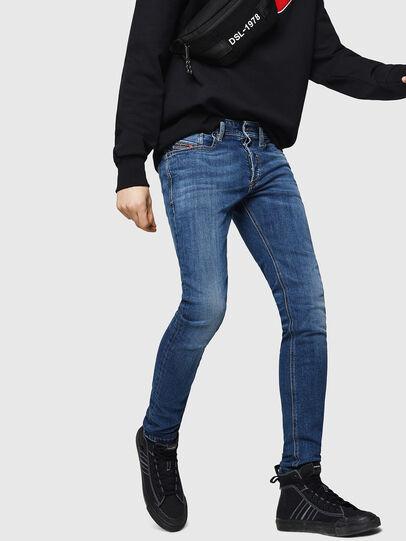Diesel - Sleenker 069FZ, Medium Blue - Jeans - Image 6