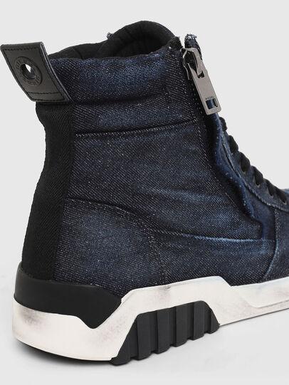 Diesel - S-RUA MID, Blue - Sneakers - Image 4