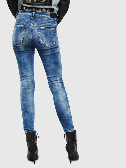 Diesel - Slandy High 0096J, Bleu moyen - Jeans - Image 2