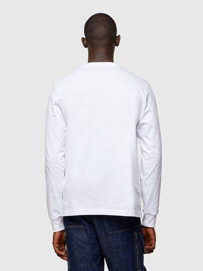 Diesel - T-JUST-LS-A10, Blanc - T-Shirts - Image 2