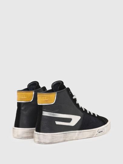 Diesel - S-MYDORI ML, Black/Yellow - Sneakers - Image 3