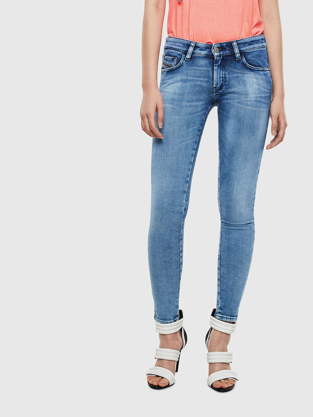 Slandy Low 0095P, Bleu Clair - Jeans