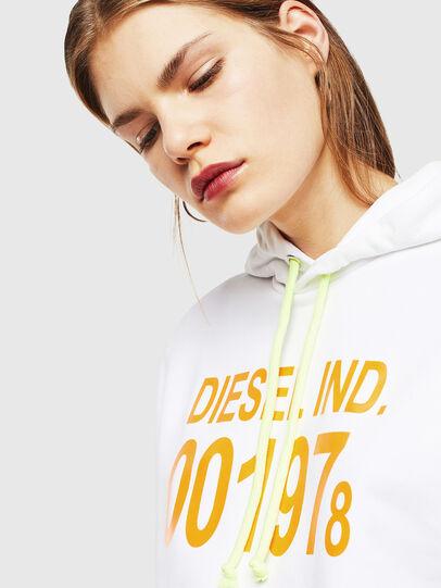 Diesel - S-GIRK-HOOD, Blanc - Pull Cotton - Image 5