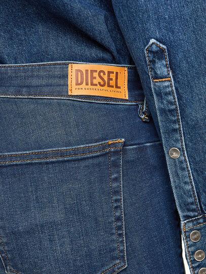 Diesel - D-Jevel 009HL, Bleu Foncé - Jeans - Image 6
