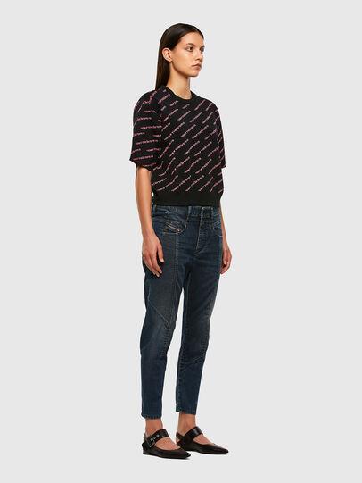 Diesel - Fayza JoggJeans 069PQ, Bleu Foncé - Jeans - Image 7