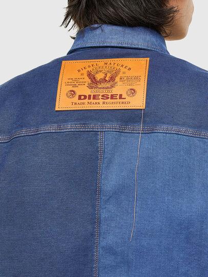 Diesel - D-CORUS-SP JOGGJEANS, Blue - Denim Shirts - Image 4