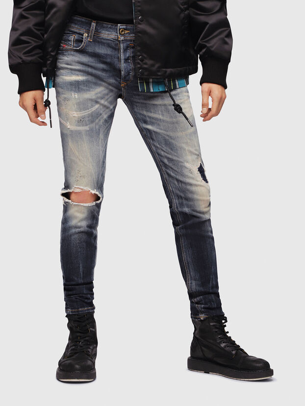 Sleenker 069DJ, Dark Blue - Jeans