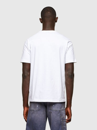 Diesel - T-JUST-A43, Blanc - T-Shirts - Image 2