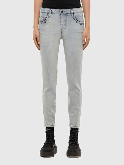 Diesel - Babhila 009JL, Bleu Clair - Jeans - Image 1