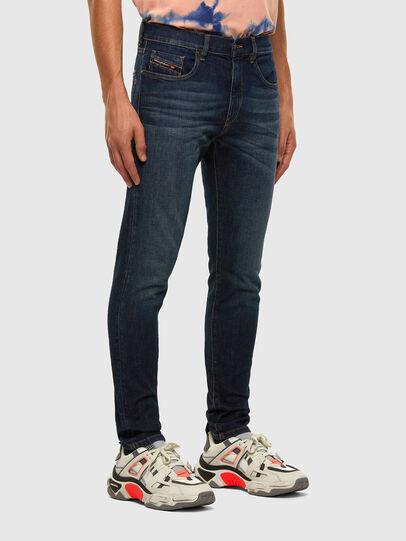 Diesel - D-Strukt 009HN, Bleu Foncé - Jeans - Image 5