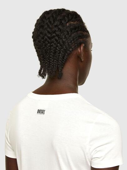 Diesel - T-SOAL-R1, Blanc - T-Shirts - Image 4