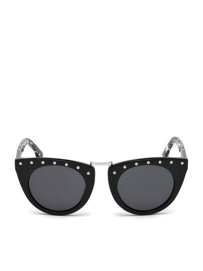 Diesel - DL0211, Black - Sunglasses - Image 1