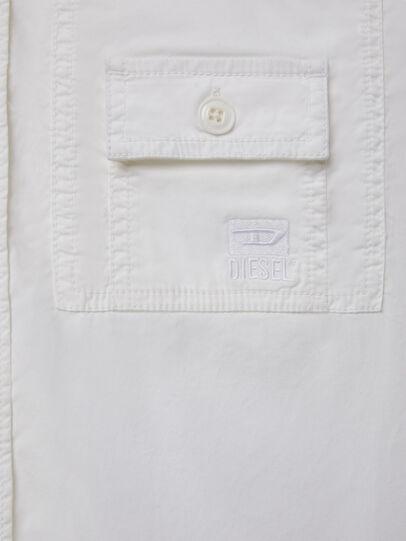 Diesel - S-ALLEN-KA, Blanc - Chemises - Image 4