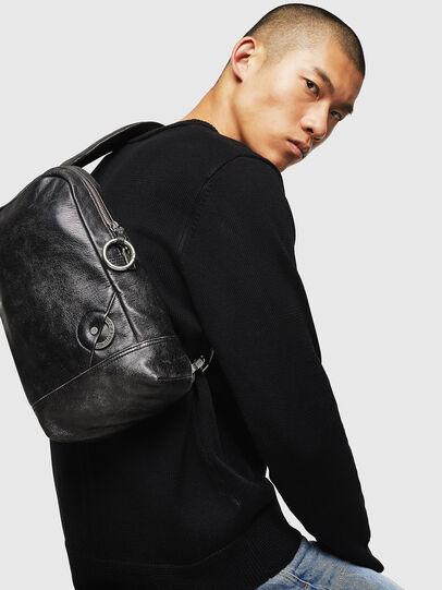 Diesel - ALTAVILLA, Black - Backpacks - Image 6