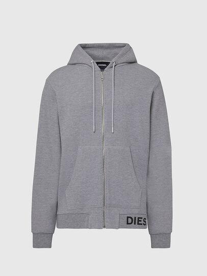 Diesel - S-ELECTRUM, Light Grey - Sweatshirts - Image 1