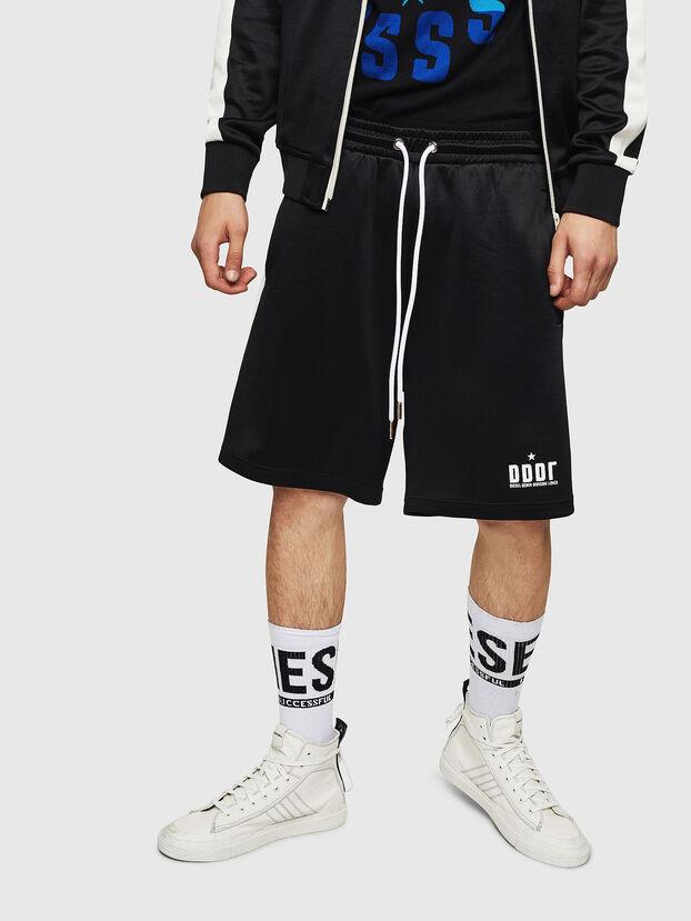 P-MIKHAIL, Noir - Shorts
