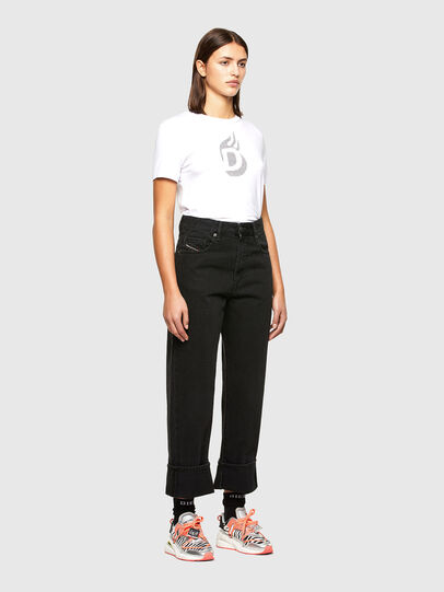 Diesel - T-SILY-R1, Blanc - T-Shirts - Image 5