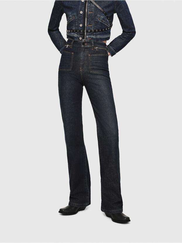 D-Pending 080AK, Bleu Foncé - Jeans