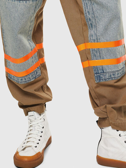 Diesel - P-CARUSO, Marron Clair - Pantalons - Image 6