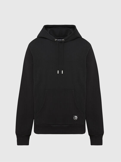 Diesel - S-GIRK-HOOD-MOHI, Black - Sweatshirts - Image 1