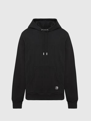 S-GIRK-HOOD-MOHI, Black - Sweatshirts