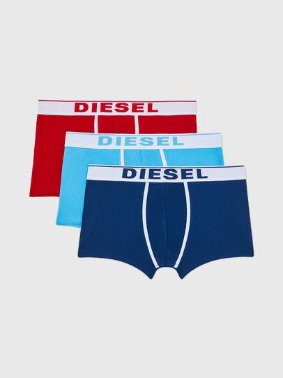 Diesel - UMBX-DAMIENTHREEPACK, Polychrome/Bleu - Boxeurs courts - Image 1