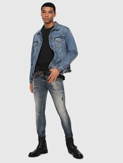 Diesel - Sleenker 069DK, Bleu moyen - Jeans - Image 6