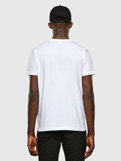 Diesel - T-DIEGOS-K34, Blanc - T-Shirts - Image 5