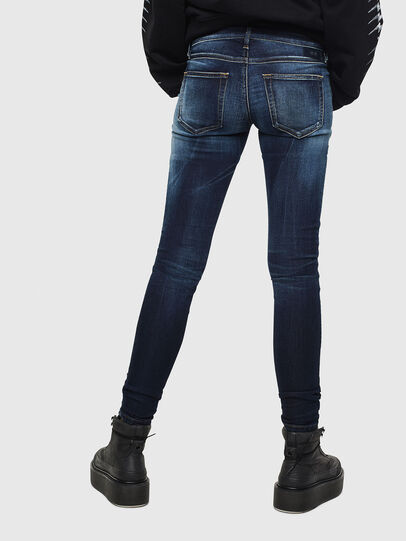 Diesel - Gracey JoggJeans 069JX, Bleu Foncé - Jeans - Image 2
