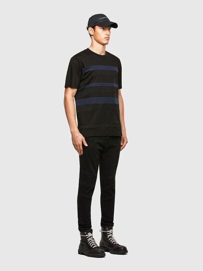 Diesel - T-LOUD, Noir - T-Shirts - Image 5