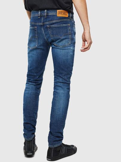 Diesel - Sleenker 0097T, Bleu Foncé - Jeans - Image 2