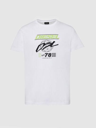 Diesel - T-DIEGOS-K34, Blanc - T-Shirts - Image 1