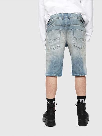 Diesel - D-KROOSHORT-T, Bleu Clair - Shorts - Image 2